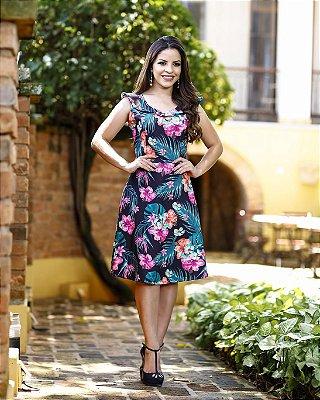 Vestido Verônica - Moda Evangélica Executiva