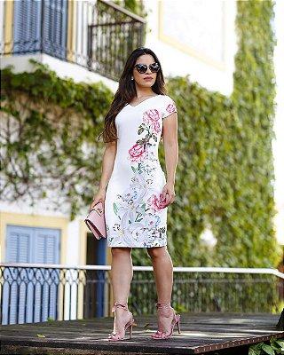 Vestido Ana Beatriz - Moda Evangélica Executiva