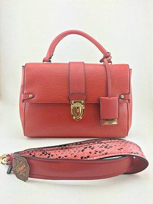 Bolsa inspired Louis Vuitton  vermelha