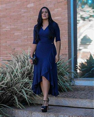 Vestido Cecilia Marinho - Moda Evangélica Executiva