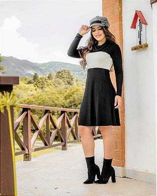 BK4686 - VESTIDO ISABELY LADY LIKE - MODA EVANGÉLICA