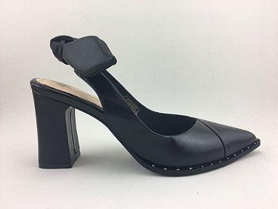Scarpin Chanel Preto com Laço – Amoii – Moda Executiva e Evangélica