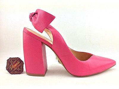 Scarpin Chanel Pink em Couro Carrano – Amoii – Moda Executiva e Evangélica
