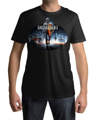 Camiseta BF3 Battlefield 3 Capa
