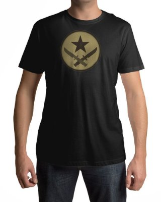 Camiseta CS:GO Counter-Strike Símbolo Terroristas