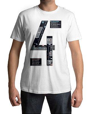 Camiseta BF4 Battlefield 4 Mapa