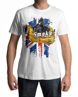 Camiseta R6 Rainbow Six Siege  Smoke Belezinhas Tóxicas