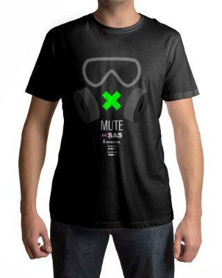 Camiseta R6 Rainbow Six Siege Mute Attributes
