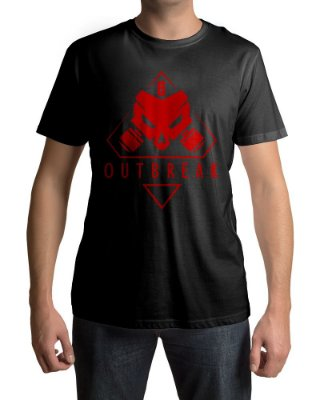 Camiseta R6 Rainbow Six Siege Outbreak