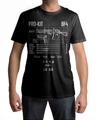 Camiseta BF4 Battlefield 4 PRO-KIT