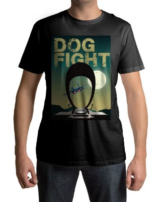 Camiseta BF4 Battlefield 4 Dogfight