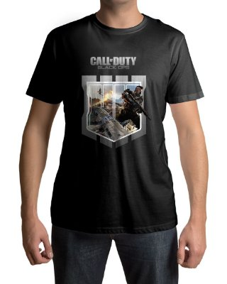 Camiseta COD Call of Duty Black Ops 4