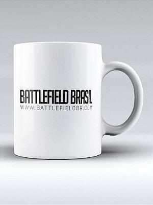 Caneca Battlefield Brasil Logo