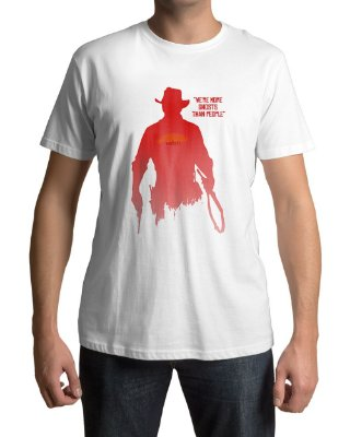 Camiseta Red Dead Redemption 2 We're More Ghosts