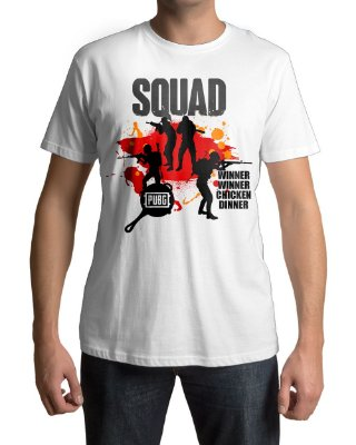 Camiseta PUBG Playerunknown's Battlegrounds Squad