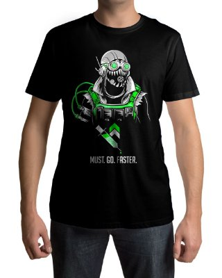 Camiseta APEX Legends Octane Most Go Faster