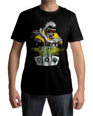 Camiseta APEX Legends Caustic Main