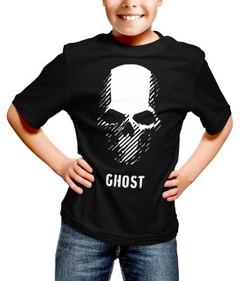 Camiseta Infantil Ghost Recon Wildlands Skull