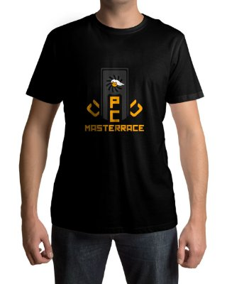 Camiseta PC Gamer Master Race Glorious