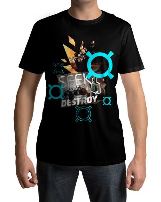 Camiseta BF4 Battlefield 4 Seek And Destroy