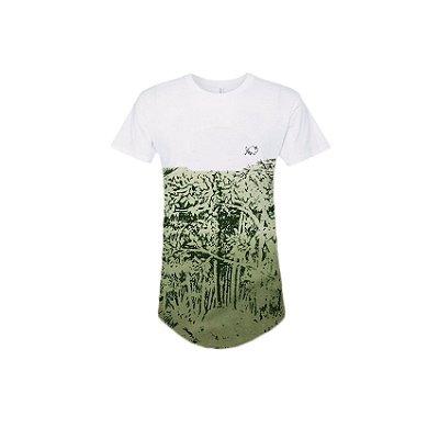 Camiseta Effel long line selva