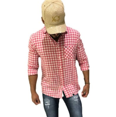 Camisa Effel xadrez