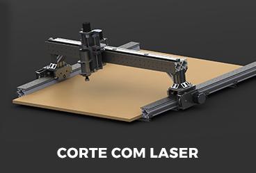 Corte com Laser