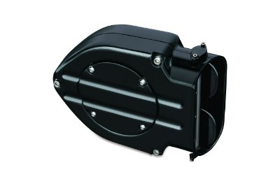 Filtro de Ar Kuryakyn Blood Groove Black Hypercharger Kit 9874 Gloss Black para Harley Davidson Sportsters
