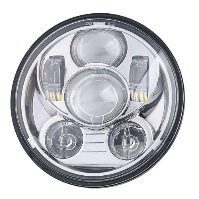 "Farol Principal Led Daymaker Projector LED Headlight 7"" Gen. III Chrome para Harley Davidson Softails e Touring"