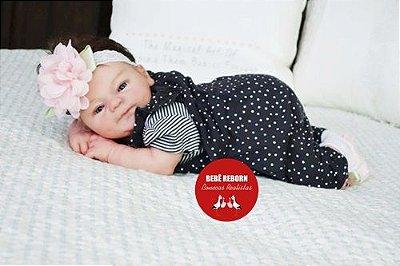 Bebê Reborn Menina Realista E Encantadora Um Verdadeiro Presente Acompanha Acessórios