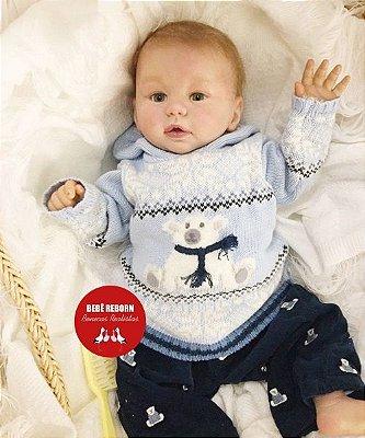 Bebê Reborn Menino Detalhes Reais De Um Bebê De Verdade Bebê Muito Fofo E Perfeitinho