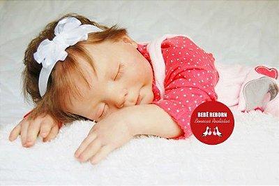 Boneca Bebê Reborn Menina Realista Lindíssima Bebê Recém Nascida Sofisticada E Encantadora