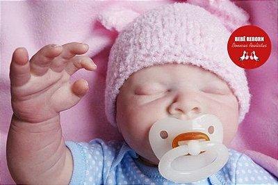 Bebê Reborn Menino Quase Real Bebê Artesanal Detalhes Sofisticados Com Enxoval E Chupeta