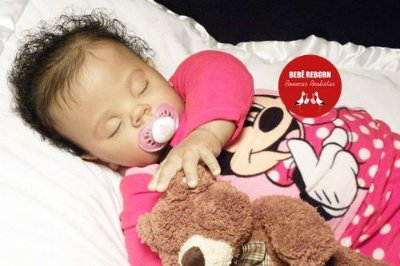Bebê Reborn Menina Realista Bebê Negra Criança Grande Toddler Lindíssima Com Enxoval