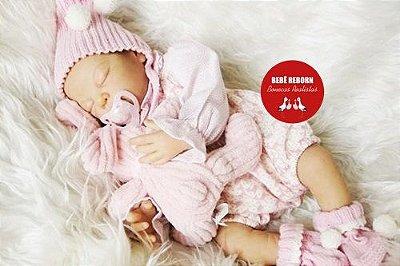 Boneca Bebê Reborn Menina Detalhes Reais De Um Bebê De Verdade Linda Com Enxoval