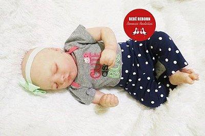 Boneca Bebê Reborn Menina Detalhes Reais Lindinha E Muito Fofa Parece Um Bebê De Verdade