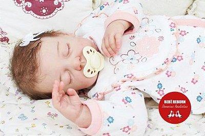 Bebê Reborn Menina Realista Linda E Encantadora Parece Um Bebê De Verdade Acompanha Enxoval