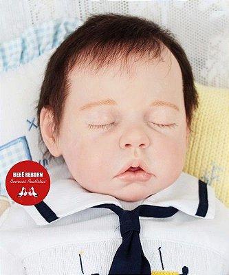 Bebê Reborn Menino Detalhes Reais Um Verdadeiro Presente Muito Fofo Com Lindo Enxoval