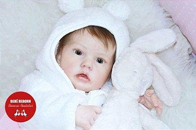 Boneca Bebê Reborn Menina Realista Boneca Encantadora Com Acessórios E Enxoval Completo