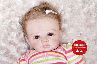Bebê Reborn Menina Realista Boneca Encantadora Parece Bebê De Verdade Com Acessórios