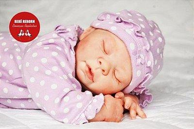 Boneca Bebê Reborn Menina Realista Princesa Perfeita Com Detalhes De Um Bebê De Verdade