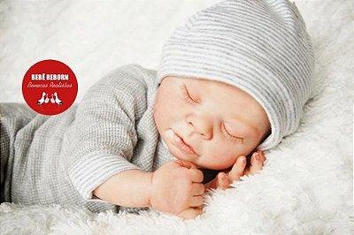 Bebê Reborn Menino Detalhes Reais Lindíssimo Parece Um Bebê De Verdade Acompanha Enxoval