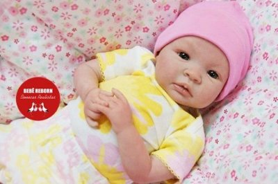 Bebê Reborn Menina Detalhes Reais Anjinha Linda E Maravilhosa Acompanha Enxoval E Chupeta