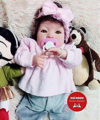 Bebê Reborn Menina Detalhes Reais Linda E Perfeita Parece Um Bebê De Verdade Acompanha Enxoval
