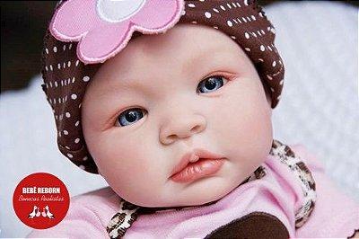 Boneca Bebê Reborn Menina Realista Linda E Perfeita Bebê Recém Nascida Com Enxoval Completo