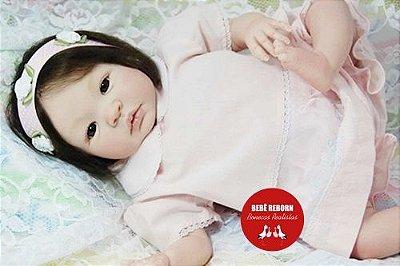 Boneca Bebê Reborn Menina Detalhes Reais Princesinha Encantadora Com Enxoval Super Promoção