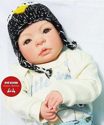 Bebê Reborn Menino Detalhes Reais Lindo Bebê Recém Nascido Artesanal E Sofisticado Com Chupeta