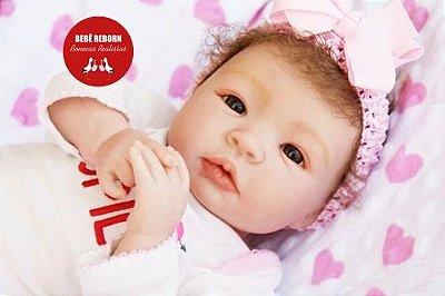 Bebê Reborn Menina Realista Lindíssima E Perfeita Um Verdadeiro Presente Com Lindo Enxoval