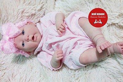 Boneca Bebê Reborn Menina Detalhes Reais Linda Com Corpo Inteiro Em Vinil Super Promoção