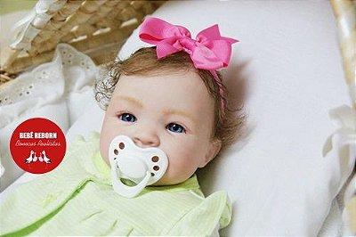 Bebê Reborn Menina Realista Lindíssima Bebê Recém Nascida Com Enxoval E Chupeta Super Promoção